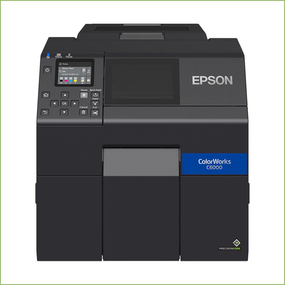 EPSON CW C-6000Ae  RENKLİ ETİKET YAZICI